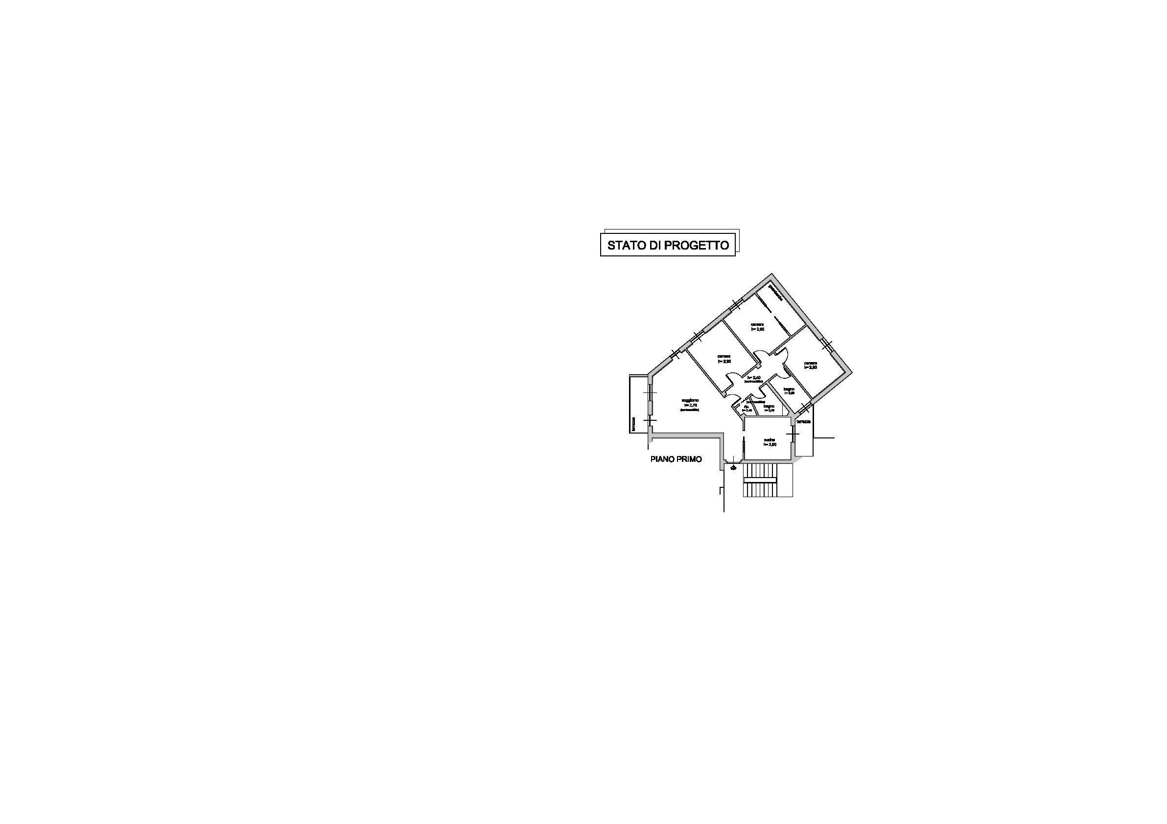 Appartamento in vendita, rif. AP201 (Planimetria 1/1)