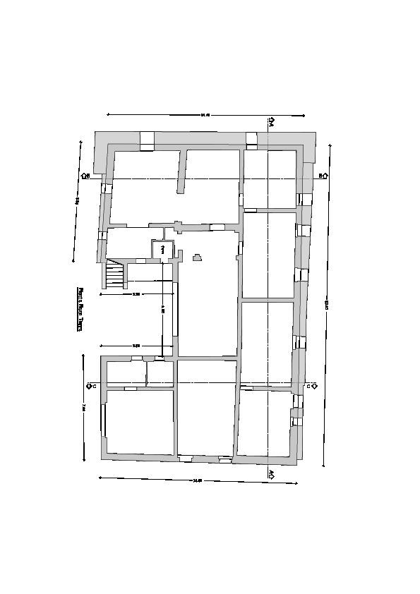 Casale in vendita, rif. CA201 (Planimetria 1/1)