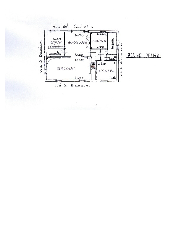 Appartamento in vendita, rif. AP204 (Planimetria 1/1)
