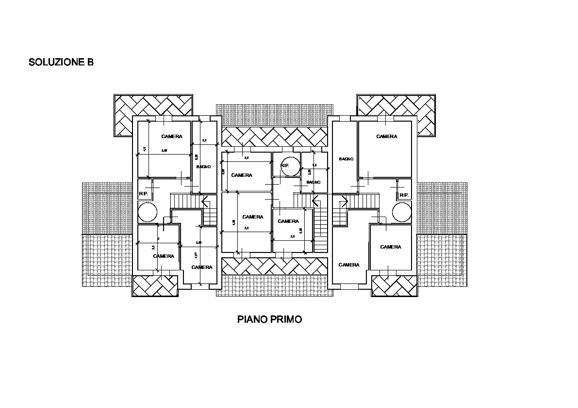 Planimetria 1/4 per rif. TV/88