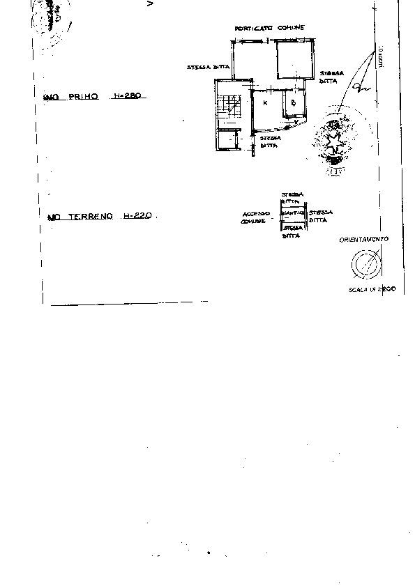 Planimetria 1/1 per rif. 174