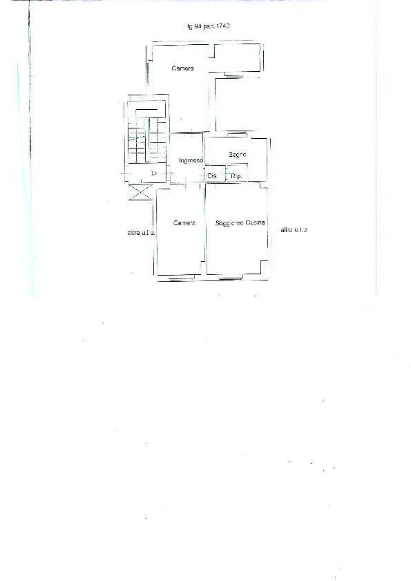 Planimetria 1/1 per rif. 166 bis