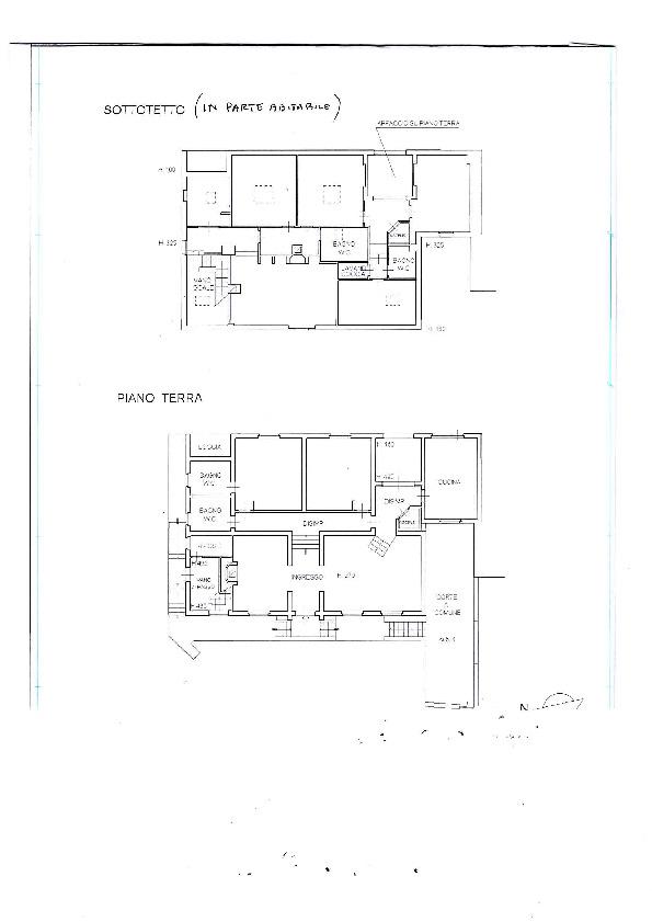 Planimetria 1/3 per rif. 449