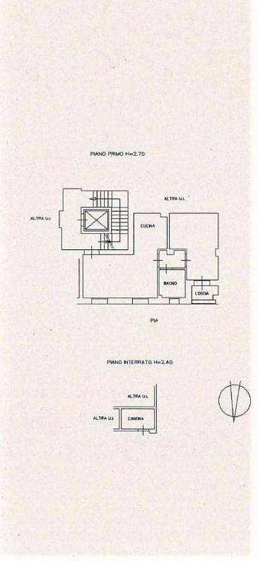 Planimetria 1/1 per rif. 261