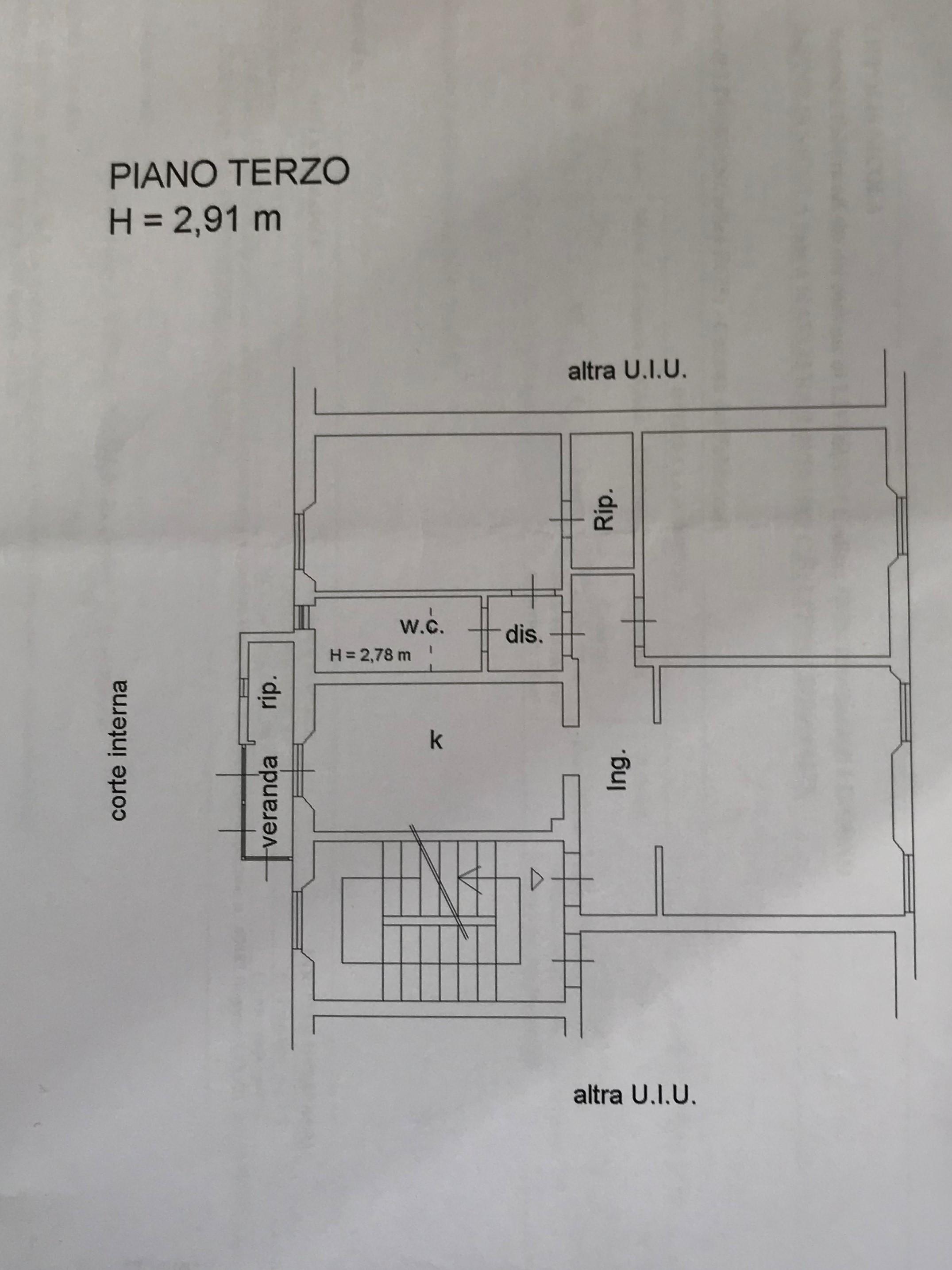 Planimetria 1/1 per rif. 107