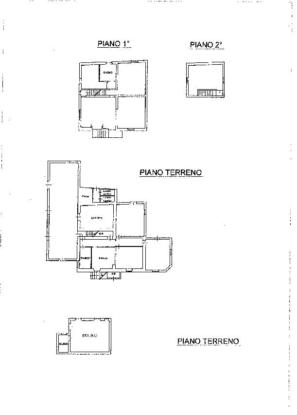 Planimetria 1/1 per rif. CA2780