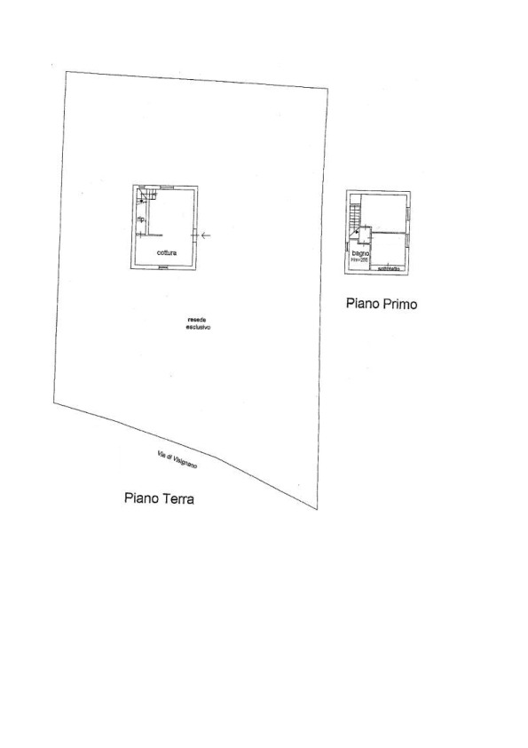 Planimetria 1/1 per rif. AP 305