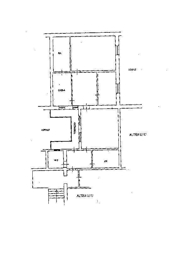 Planimetria 1/1 per rif. AP513