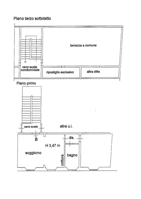 Planimetria 1/1 per rif. AP411