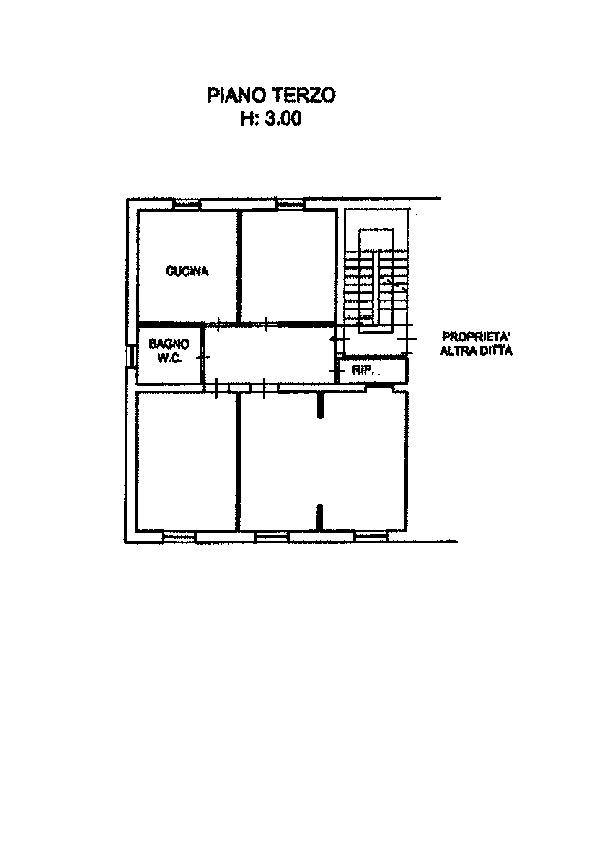 Planimetria 1/1 per rif. AP498