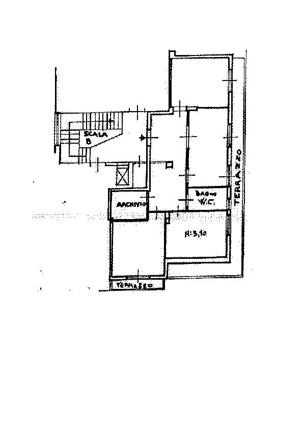 Planimetria 1/1 per rif. AP495