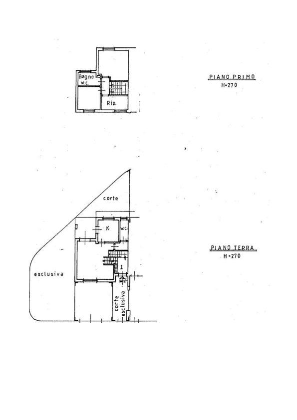 Planimetria 1/1 per rif. AP486