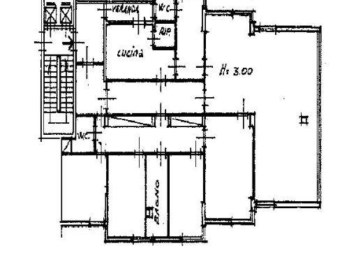 Planimetria 1/1 per rif. AP478