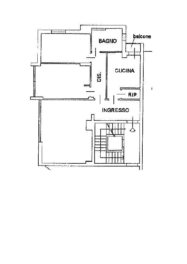 Planimetria 1/1 per rif. AP483