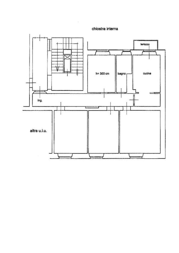 Planimetria 1/1 per rif. AP510