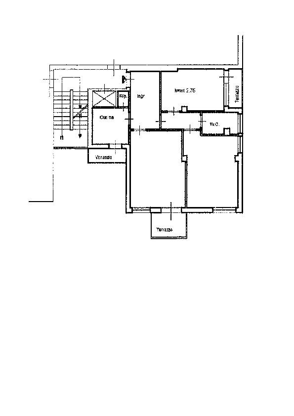Planimetria 1/1 per rif. AP624