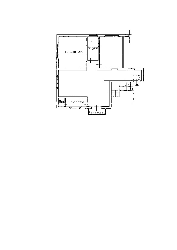 Planimetria 1/1 per rif. AP524