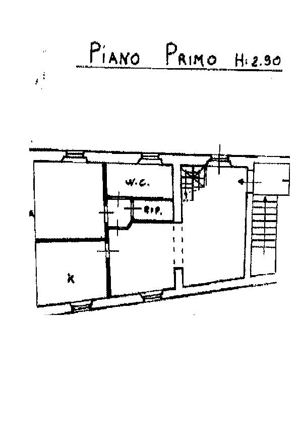 Planimetria 1/2 per rif. AP533