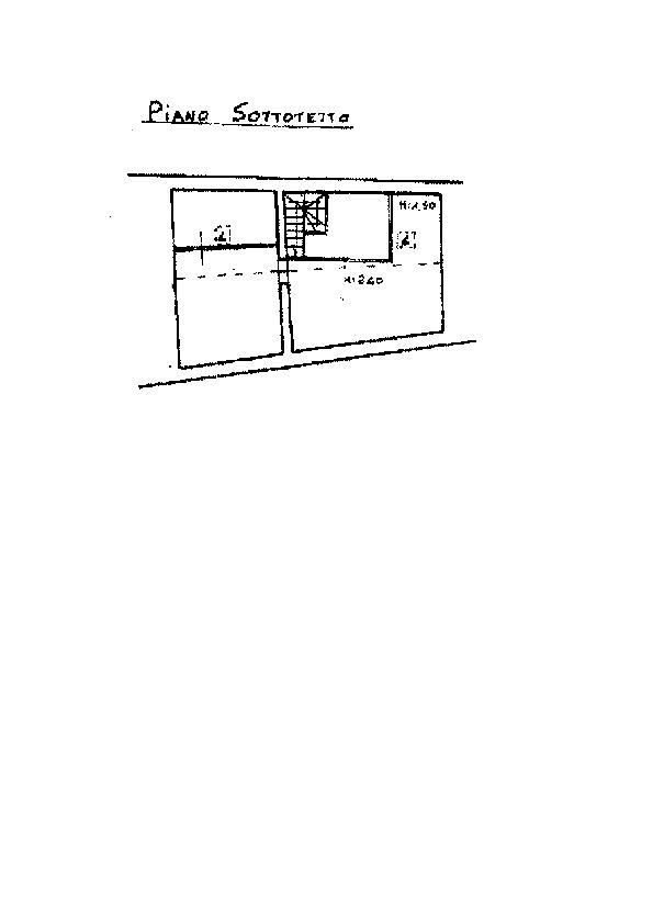 Planimetria 2/2 per rif. AP533