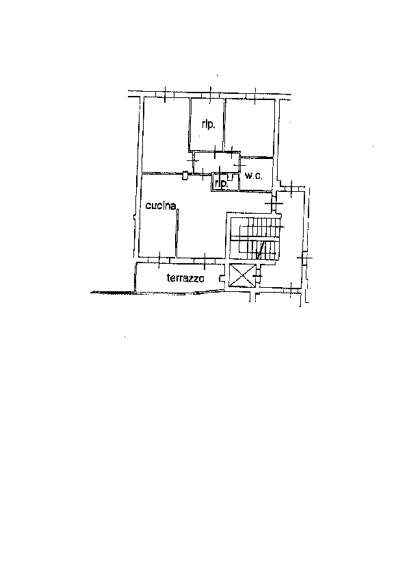 Appartamento in vendita a Porta a Terra, Livorno (LI)