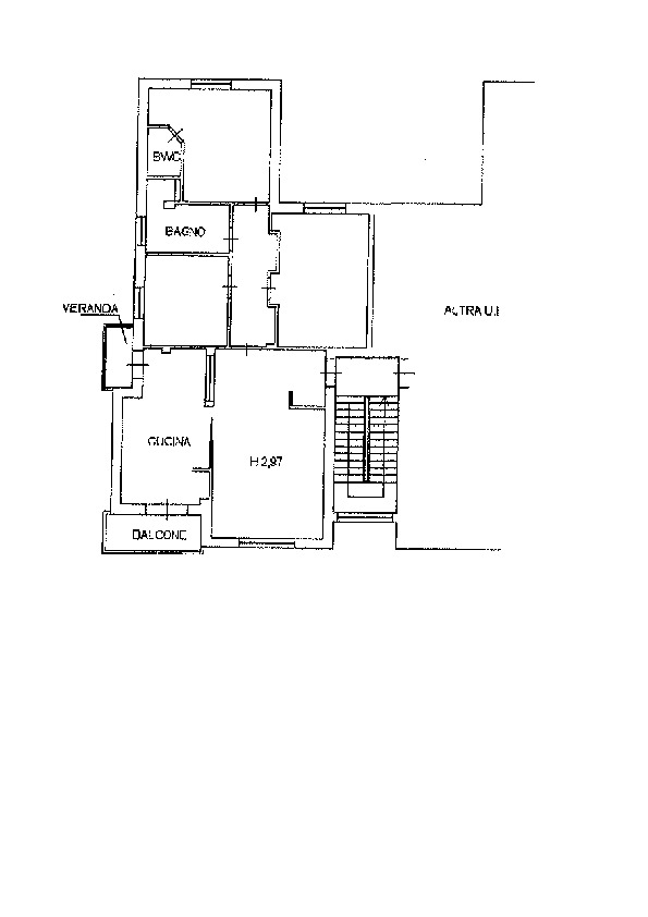 Planimetria 1/1 per rif. AP620