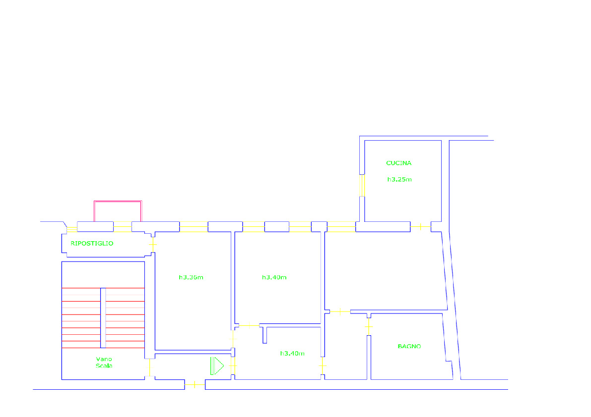 Planimetria 1/1 per rif. AP607