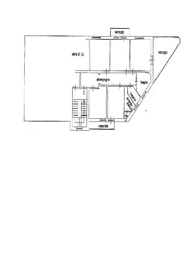 Planimetria 1/1 per rif. AP567