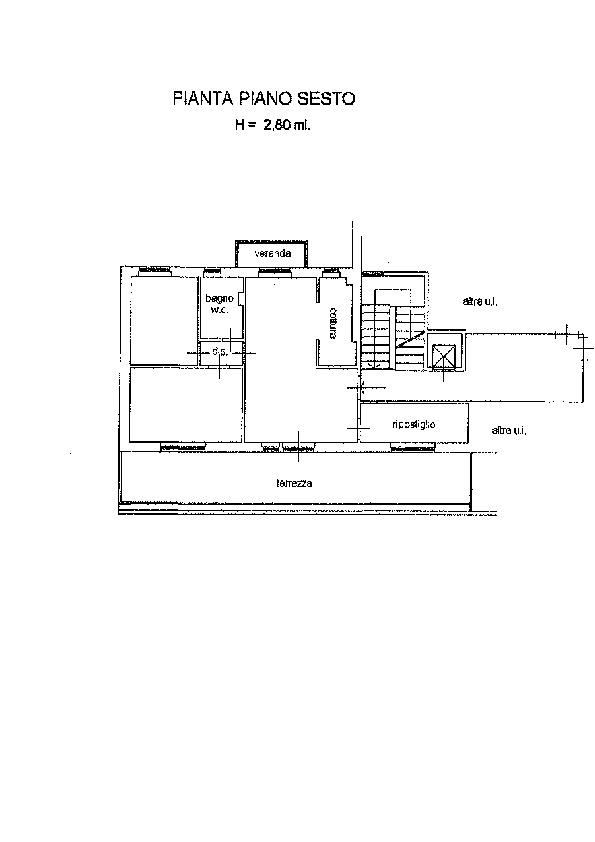 Planimetria 1/1 per rif. AP569
