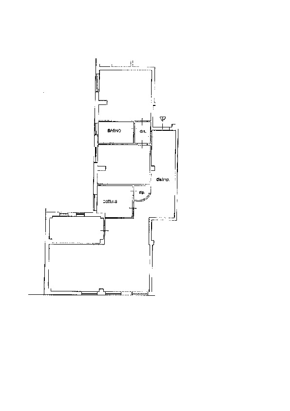 Planimetria 1/1 per rif. AP609