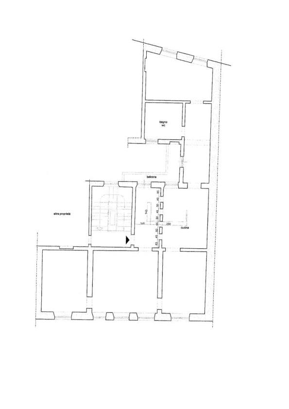 Planimetria 1/1 per rif. AP575