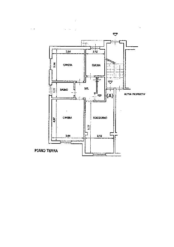 Planimetria 1/2 per rif. AP579