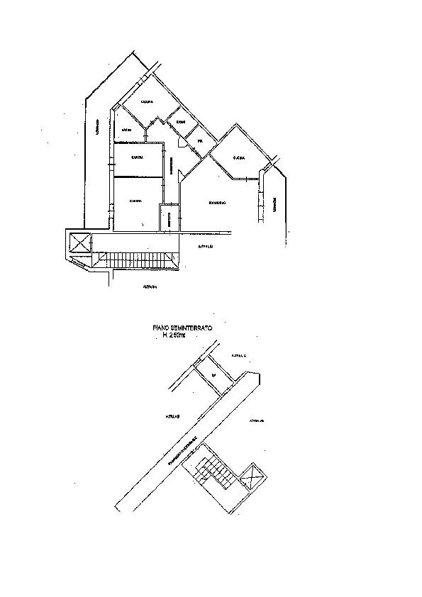 Planimetria 1/2 per rif. AP611