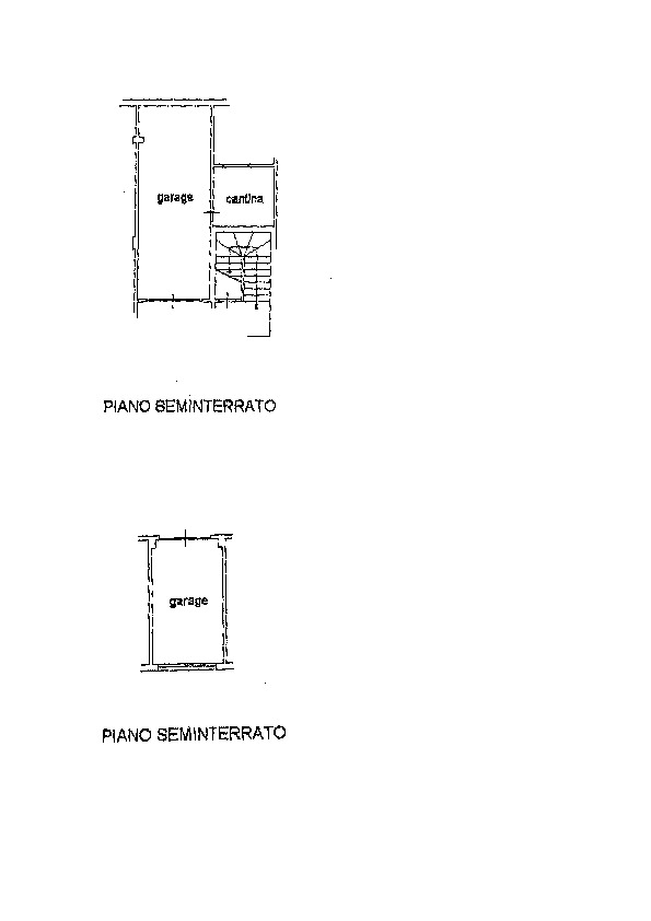 Planimetria 2/2 per rif. AP604
