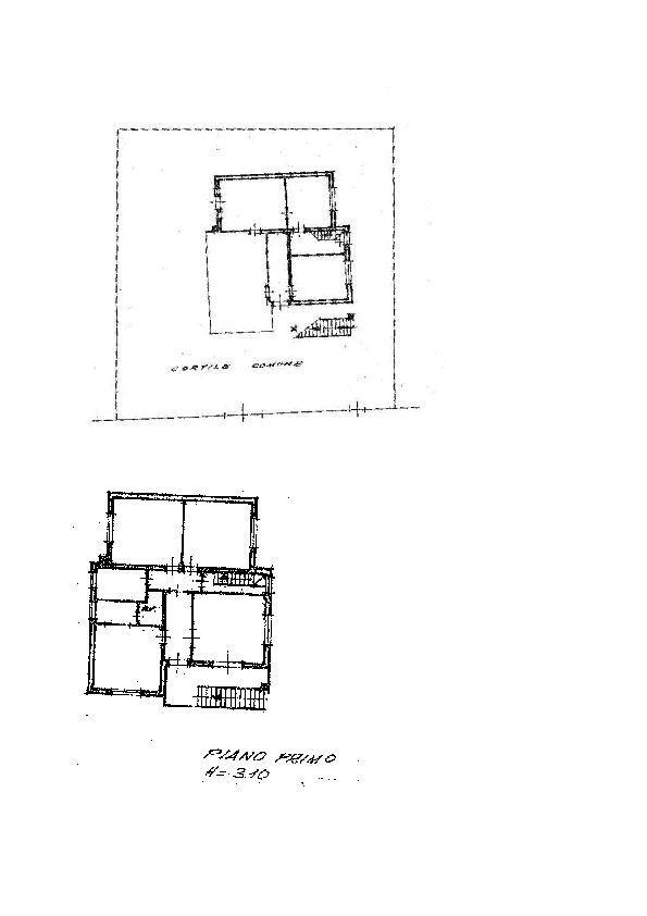 Planimetria 1/2 per rif. AP631
