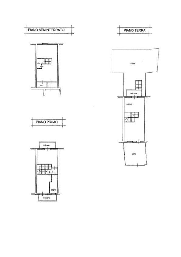 Planimetria 1/2 per rif. AP632