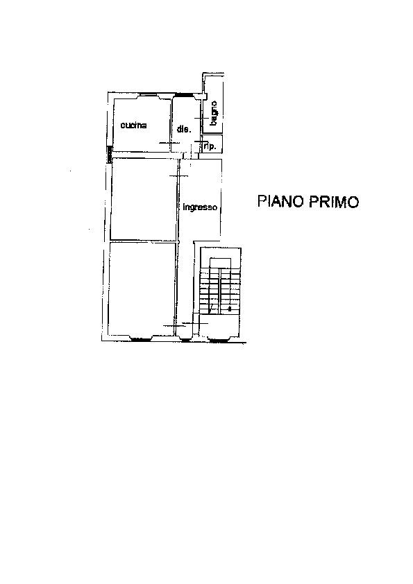 Planimetria 1/1 per rif. AP634