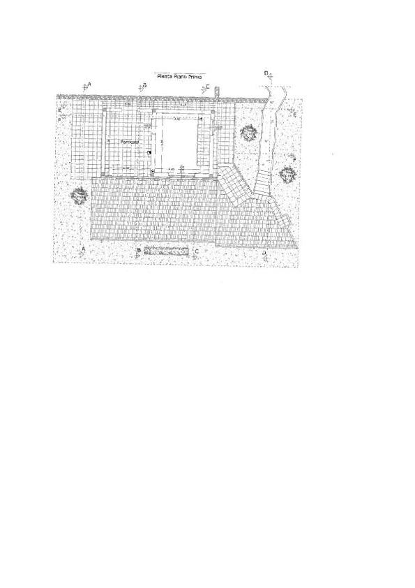 Planimetria 2/2 per rif. CA637