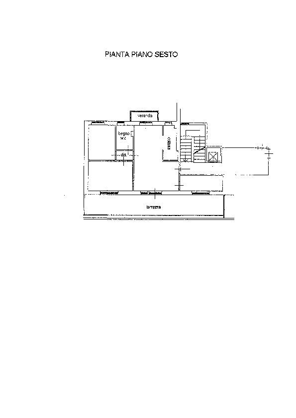 Planimetria 1/1 per rif. AP639