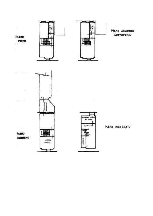 Planimetria 1/2 per rif. AP641