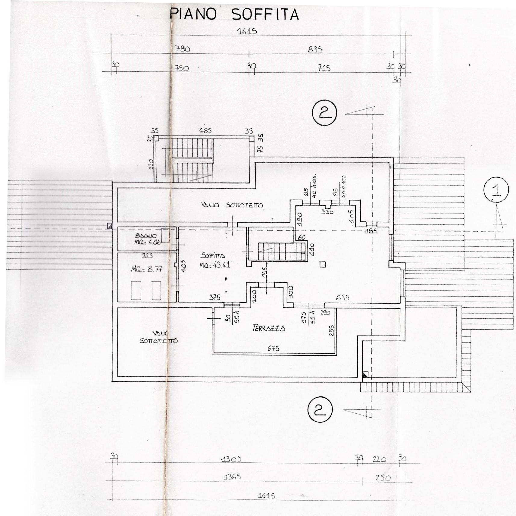 Planimetria 5/5 per rif. V1204