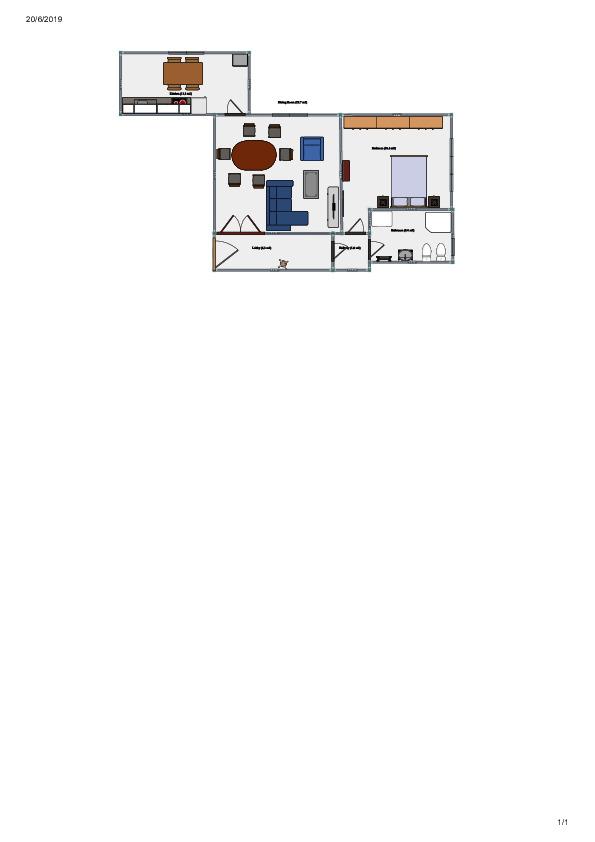 Appartamento in vendita, rif. V1254 (Planimetria 2/4)