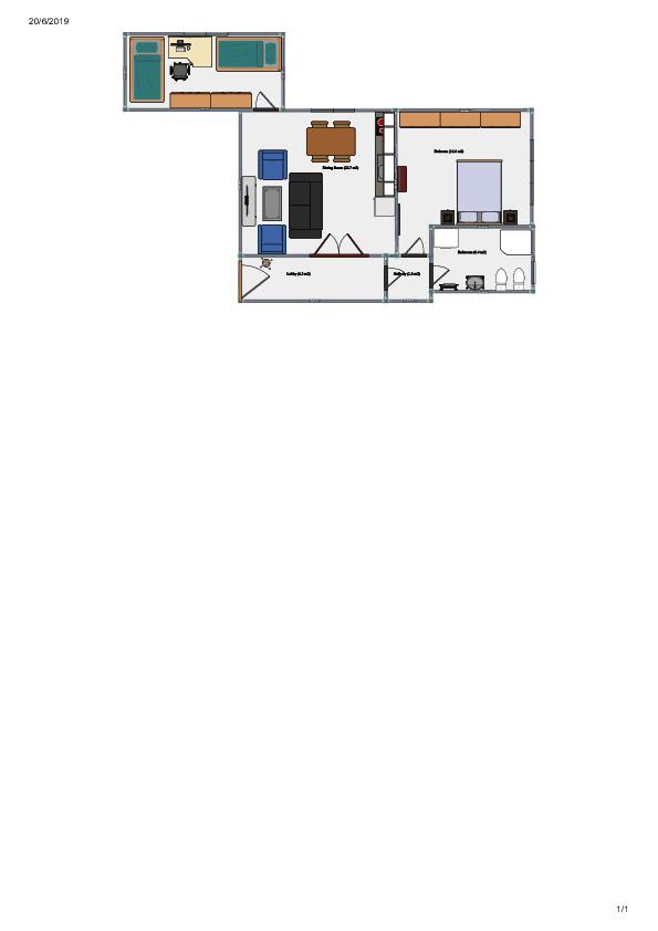 Appartamento in vendita, rif. V1254 (Planimetria 3/4)