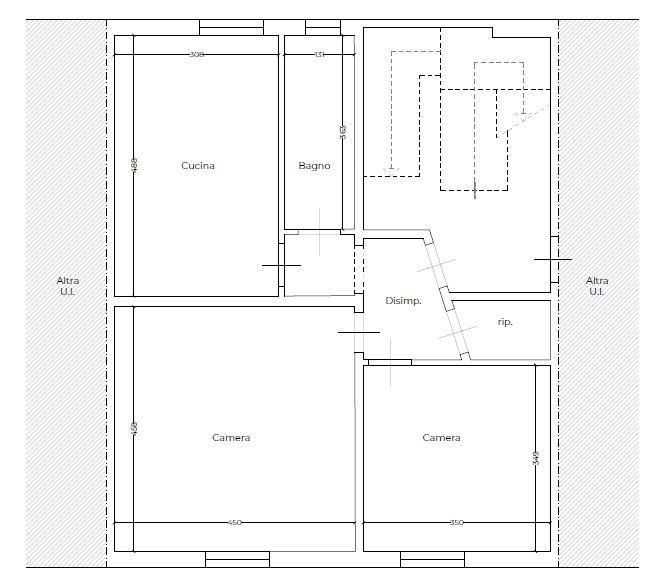Planimetria 1/2 per rif. 9137