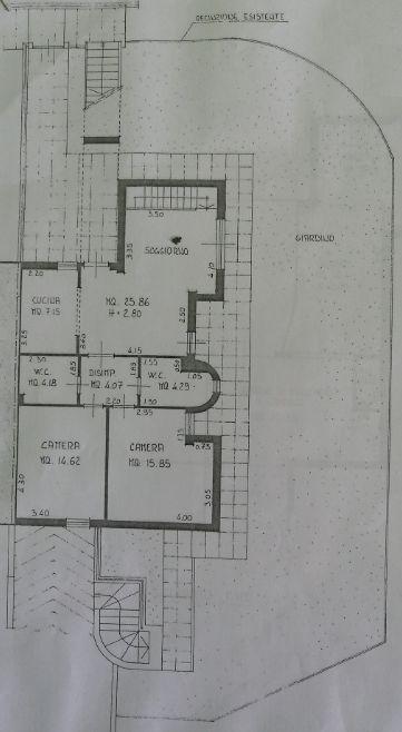 Planimetria 1/2 per rif. 7457-02