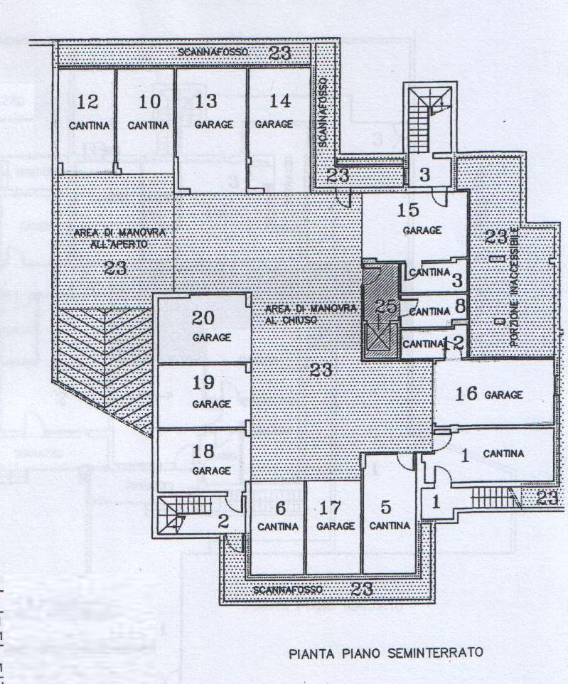 Planimetria 2/2 per rif. 7219