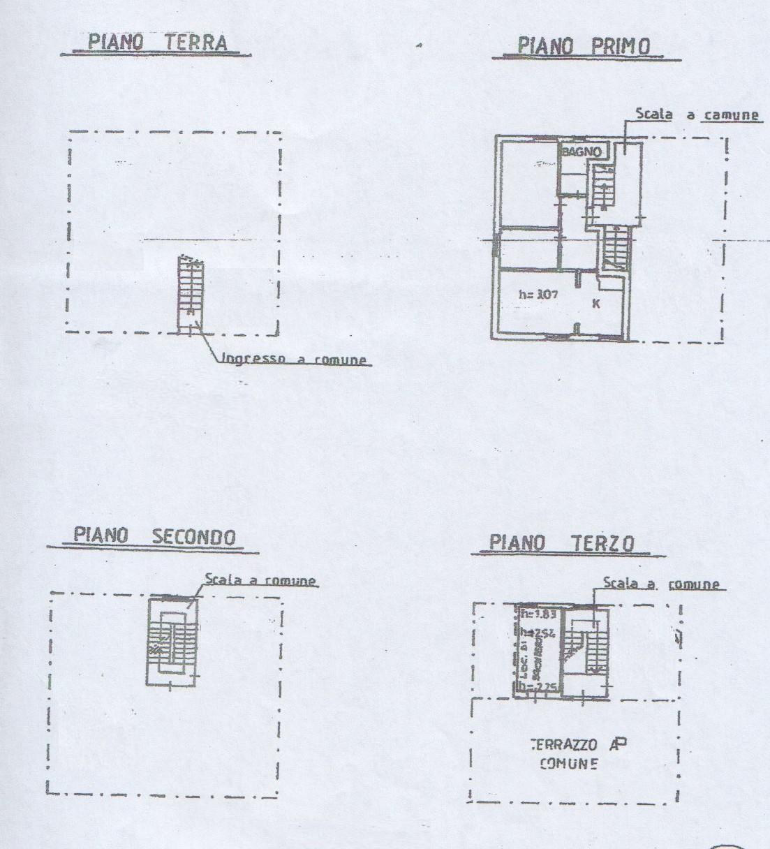Planimetria 2/2 per rif. 7857