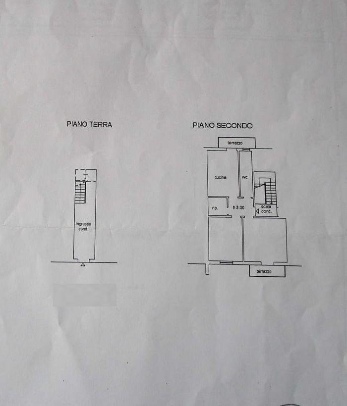 Planimetria 1/2 per rif. 7900