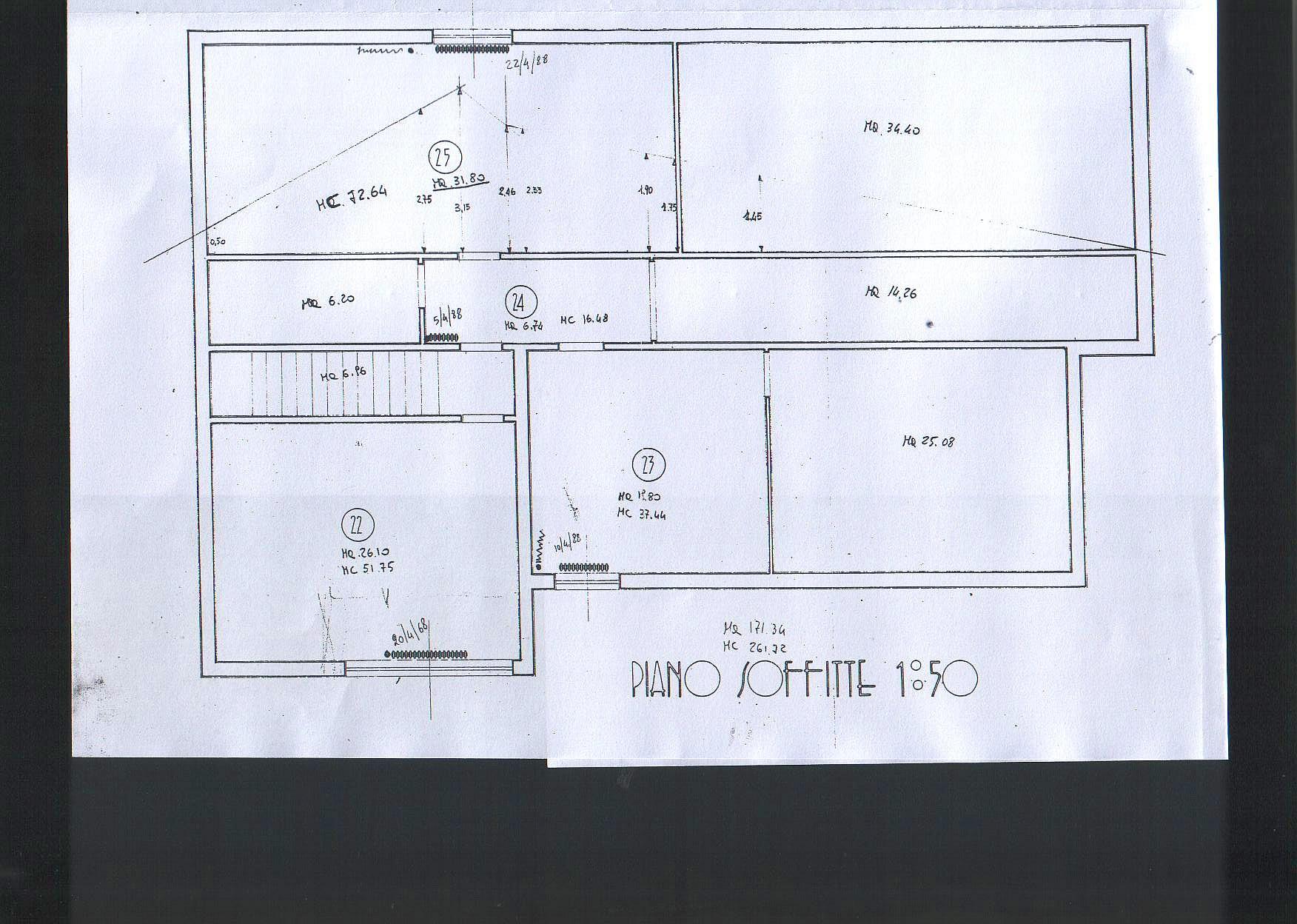 Planimetria 3/3 per rif. 8756