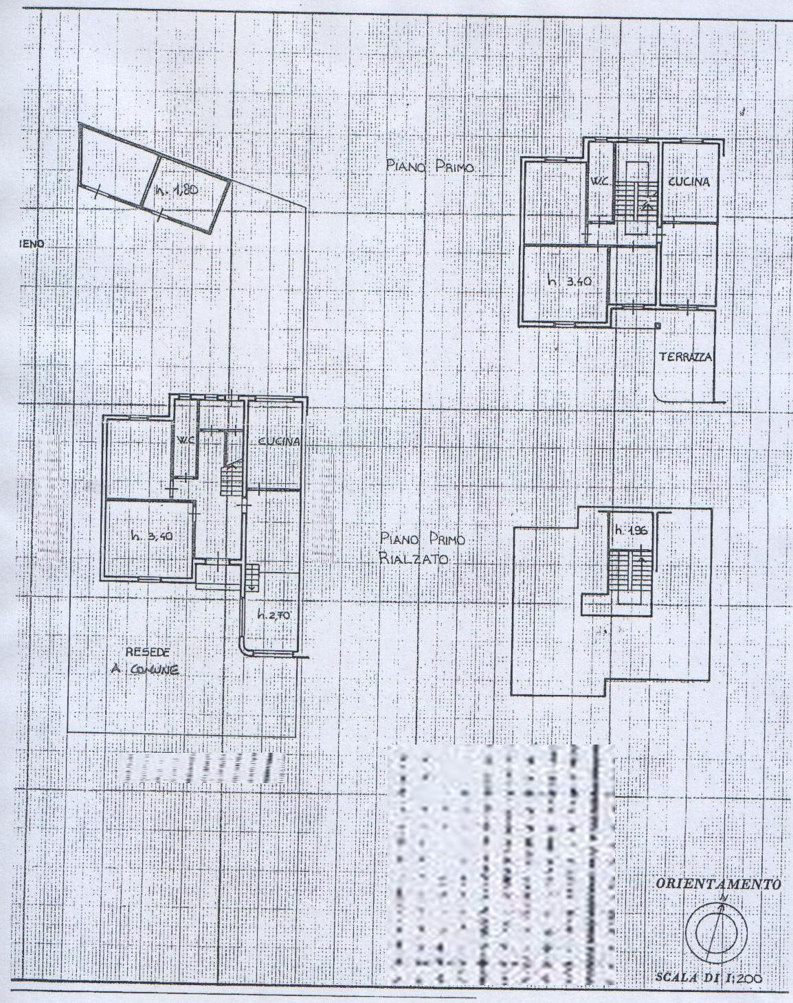 Planimetria 1/2 per rif. 8086