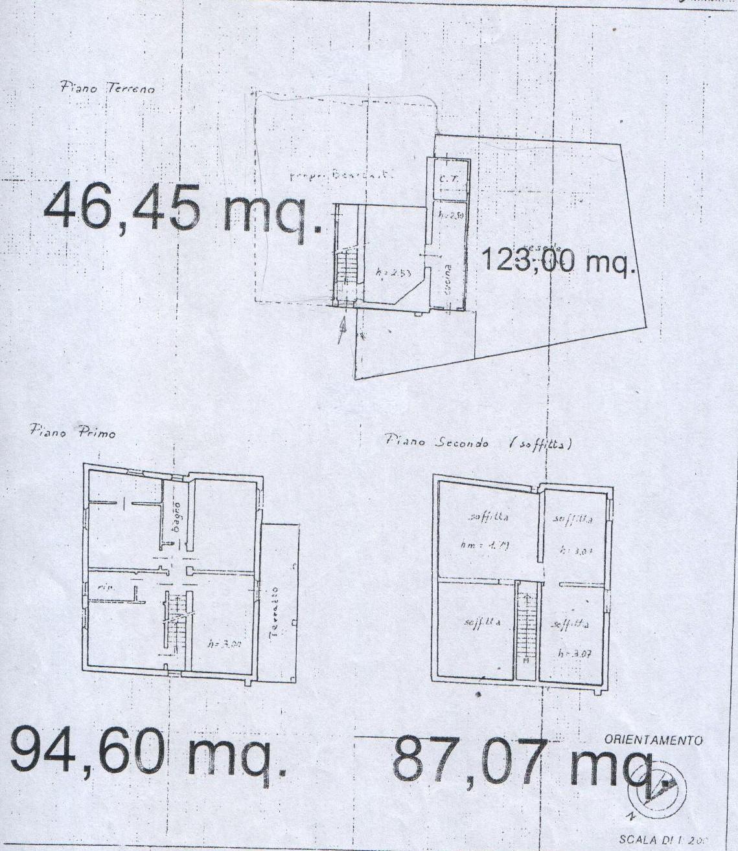 Planimetria 2/4 per rif. 8125